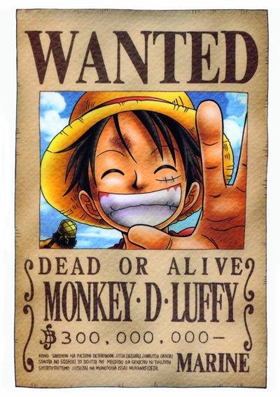 monkey D luffy .
