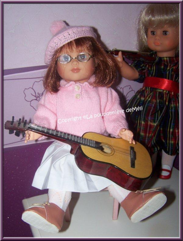 Mes petites musiciennes
