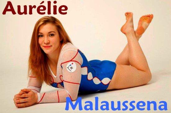 Gymnaste du mois : Aurélie Malaussena