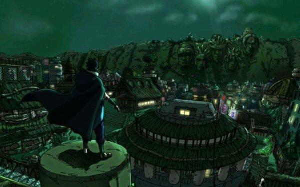 Sasuke au village...