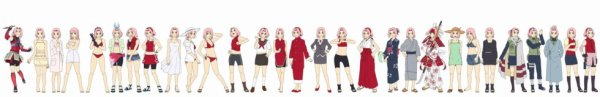 Vêtements de Sakura