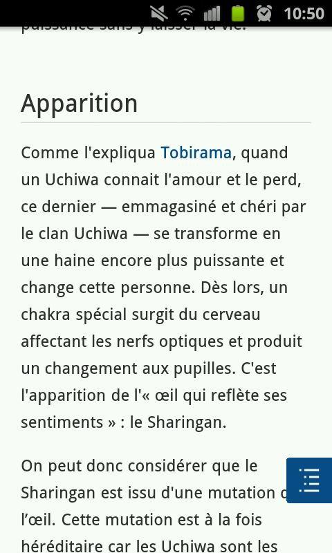 Un Uchiha connait l'amour...