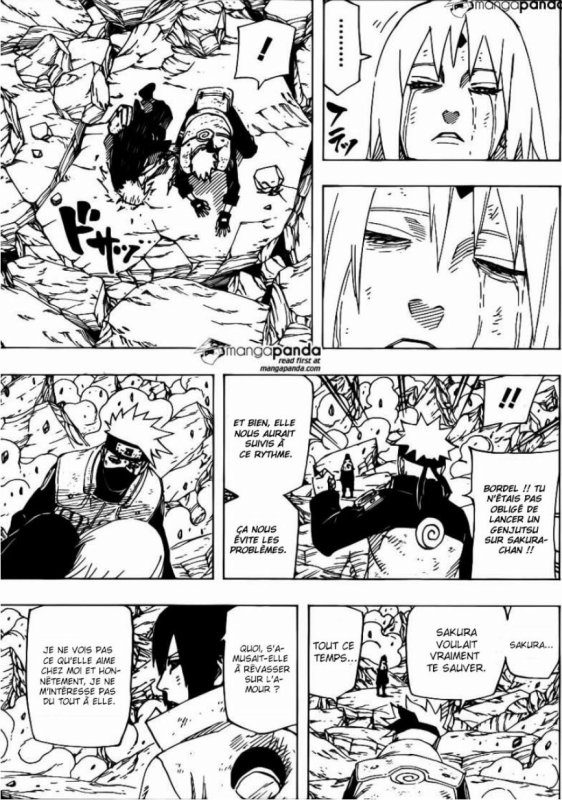 Sasuke ne changera jamais....
