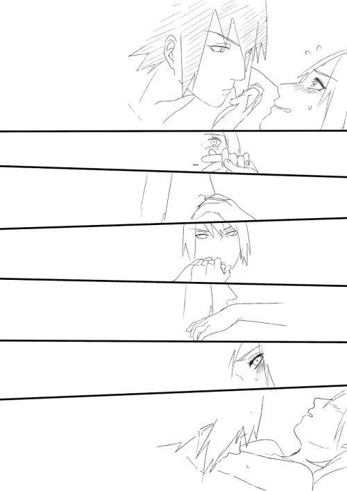 SasuSaku doujin 4 partie 2
