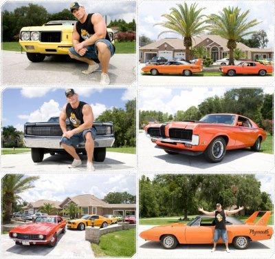 Les voitures de John Cena