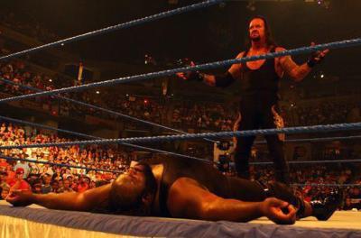 Undertaker & Mark Henry