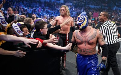 Rey Mysterio & ses fans