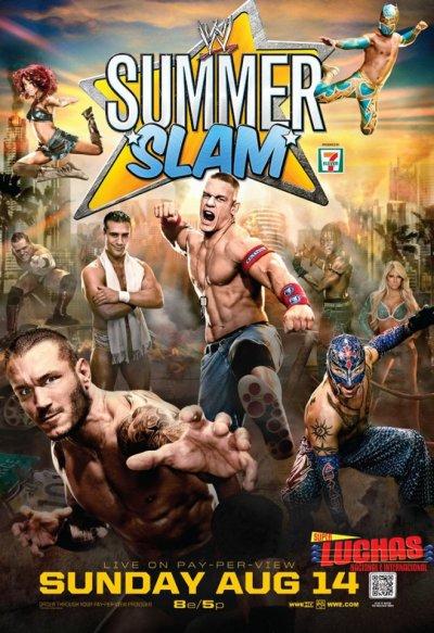 Résultats WWE Summerslam 2011