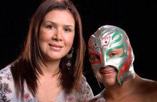 Rey Mysterio & sa femme