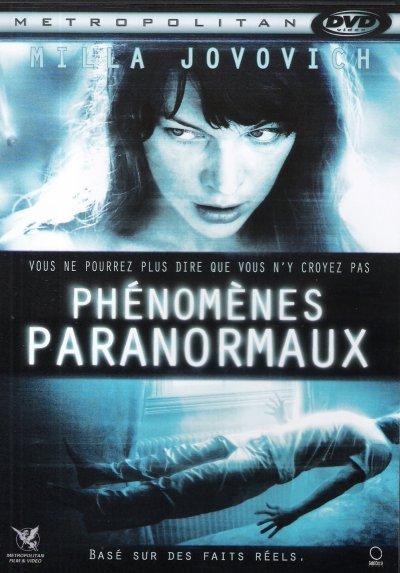 PHENOMENES PARANORMAUX DVD