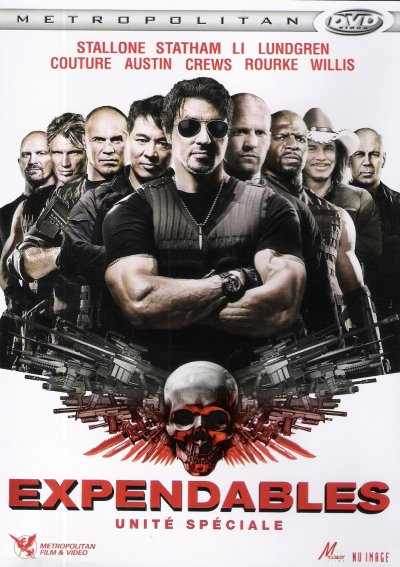 """EXPENDABLES """"UNITE SPECIALE"""" DVD et BLU-RAY"""