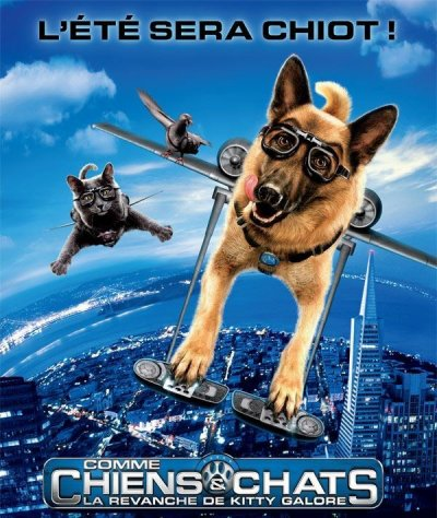 COMME CHIENS & CHATS DVD