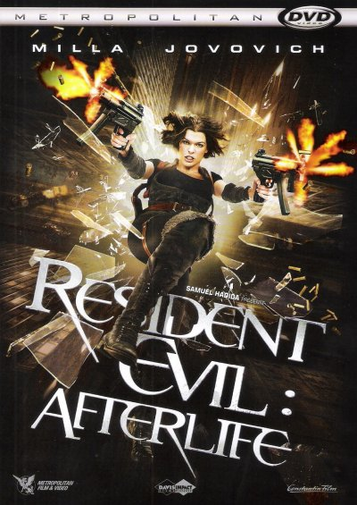 """RESIDENT EVIL """"AFTERLIFE"""" DVD"""