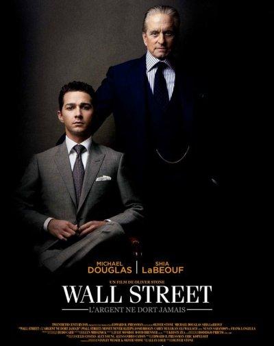 """WALL STREET """"L'ARGENT NE DORT JAMAIS """" DVD"""