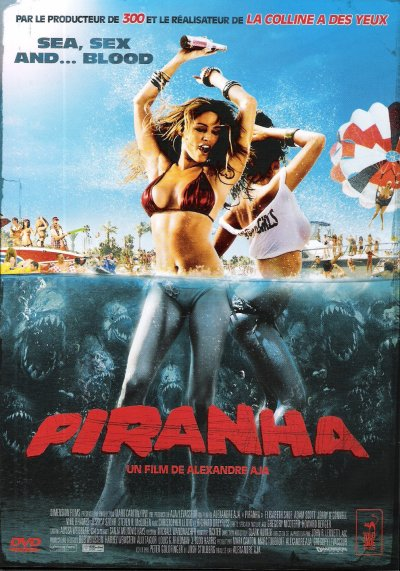 PIRANHA DVD et BLU-RAY + VERSION 3D