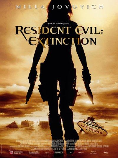 """RESIDENT EVIL """"EXTINCTION"""" DVD"""