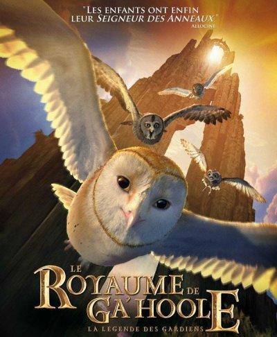 """LE ROYAUME DE GA'HOOLE """"LA LEGENDE DES GARDIENS"""" DVD et BLU-RAY"""