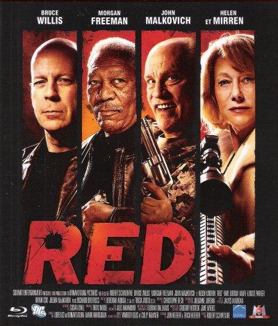 RED DVD et BLU-RAY