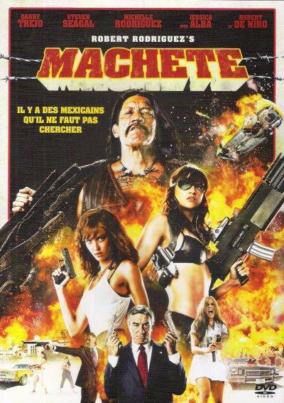 MACHETE DVD et BLU-RAY