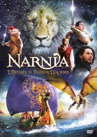 """LE MONDE DE NARNIA CHAPITRE 3 """"L'ODYSSEE DU PASSEUR D'AURORE"""" DVD"""