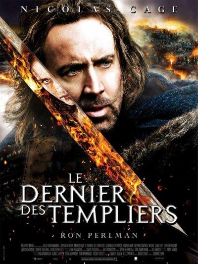 LE DERNIER DES TEMPLIERS DVD et BLU-RAY