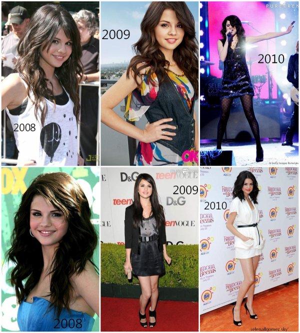 Quelle tenue de Selena préfères-tu ?
