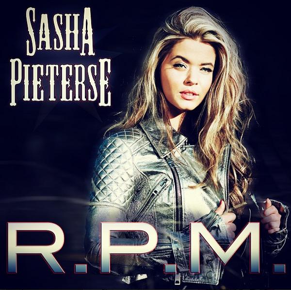Découvrez la pochette de RPM, le deuxième single de Sasha, dont le titre et le clip seront disponibles le 14 juin 2013.