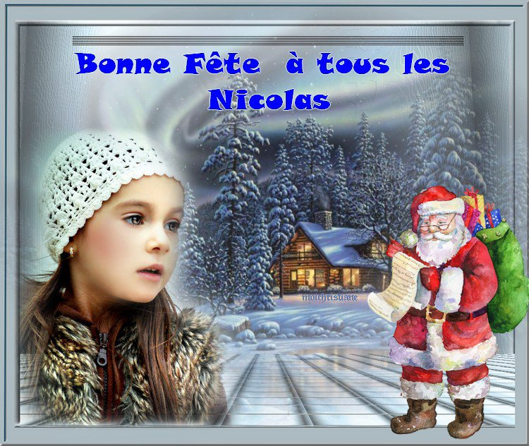 Vive la Saint Nicolas ....Je souhaite qu'il passera chez vous !!