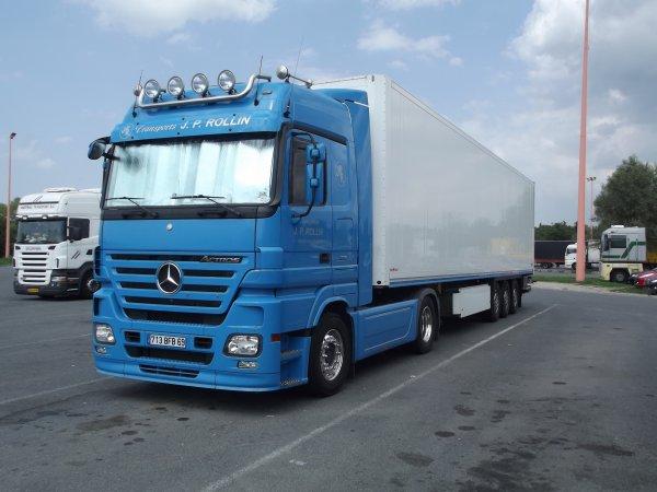 Mercedes actros megaspace transport j p rollin de - Garage mercedes villefranche sur saone ...