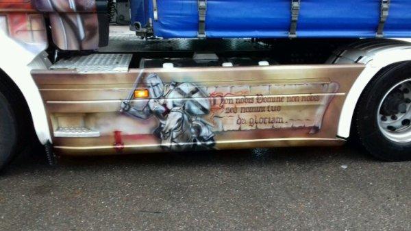 SCANIA R 450 4x2 des transports Jean rouillon de le syndicat  88