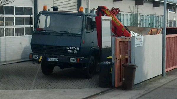 Steyr 91 4x4 allemand