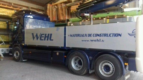 Wehl France matériaux  à trimballer 67