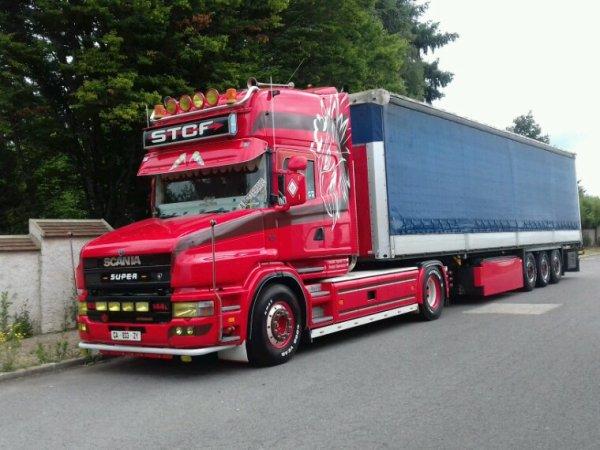 Scania Tu 144 530 topline 4x2 transport   STCF