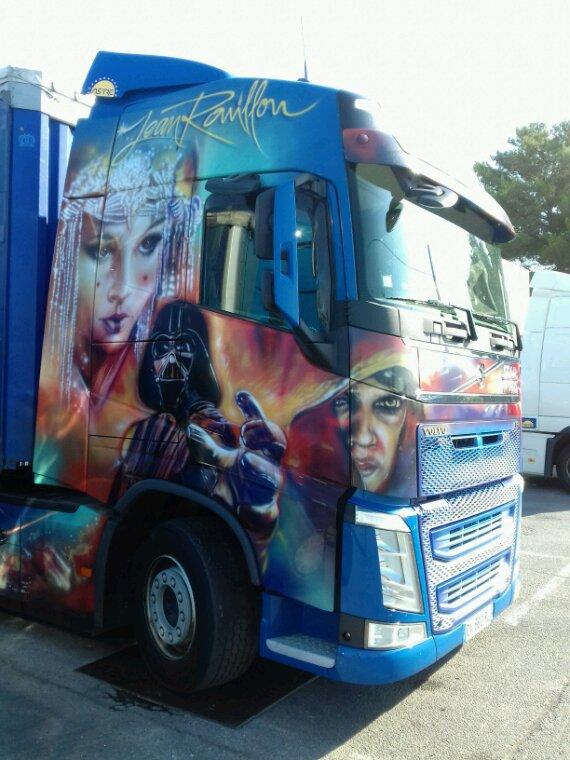 Volvo  starwars  transport Jean roupillon le syndicat  88