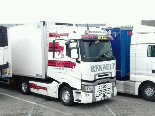 Renault T520 transport steli