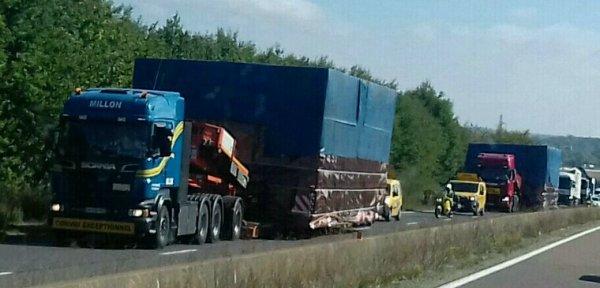 Scania transport  million  du 69
