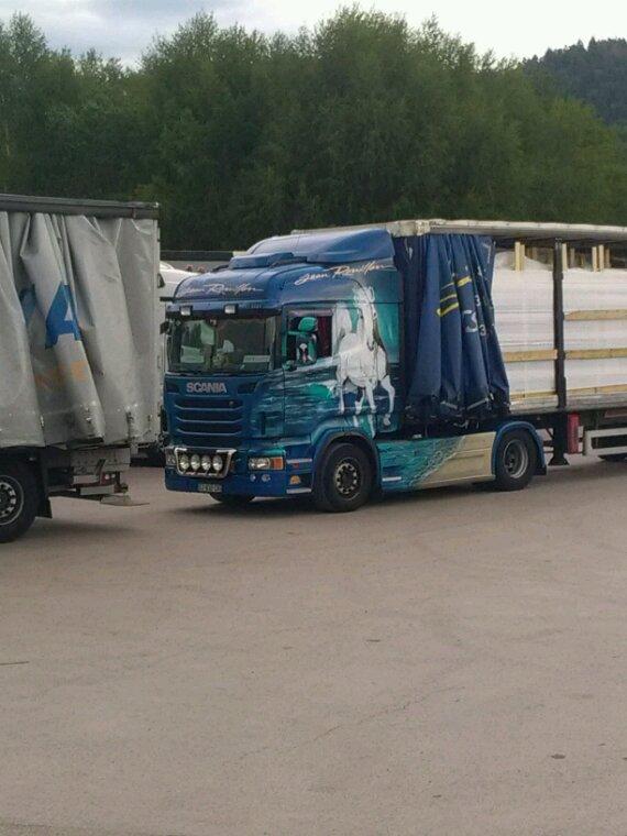 Scania des transports jean rouillon de st amé 88