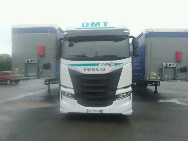 Iveco SWAY 510 4x2 des transports DMT de Villers le sec 70