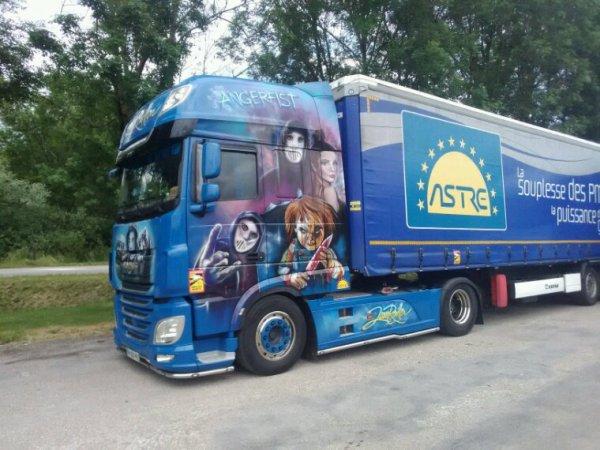 DAF des transports jean Rouillon de le Syndicat 88
