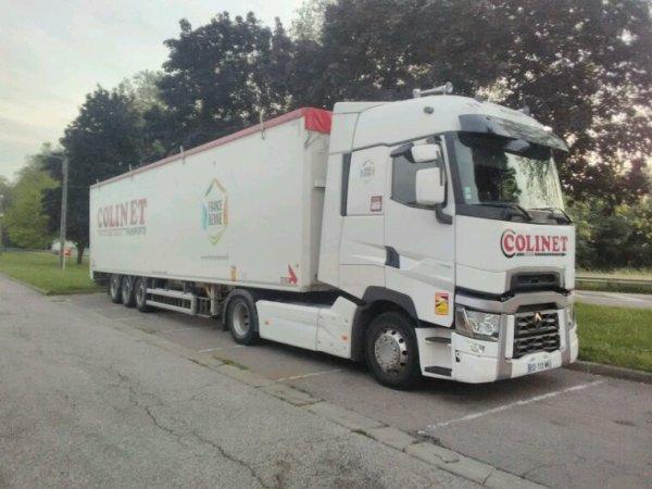 Renault T maxi des transports Colinet