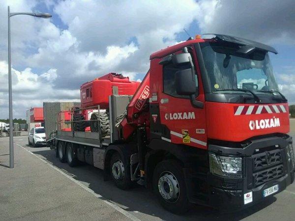 Renault range k de chez Loxam location