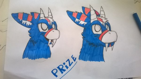 Un Angel Dragon : Prize