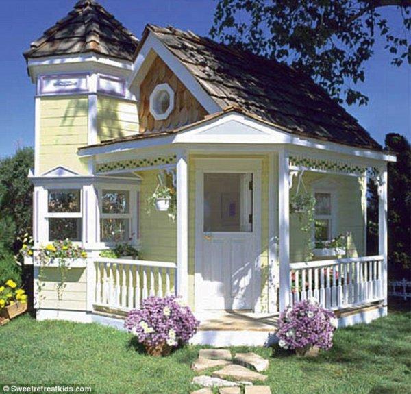 Maison pour enfant de style victorien avec lectricit et - Maison de style victorien ...