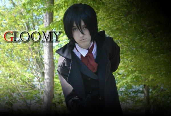 Gloomy cosplay.