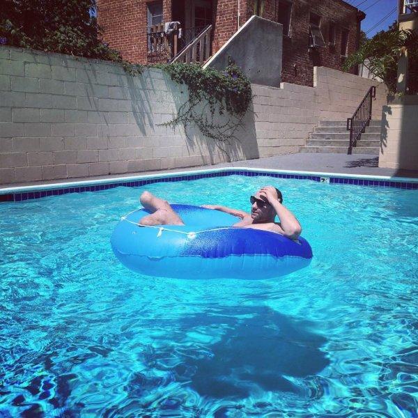 Samedi a la piscine