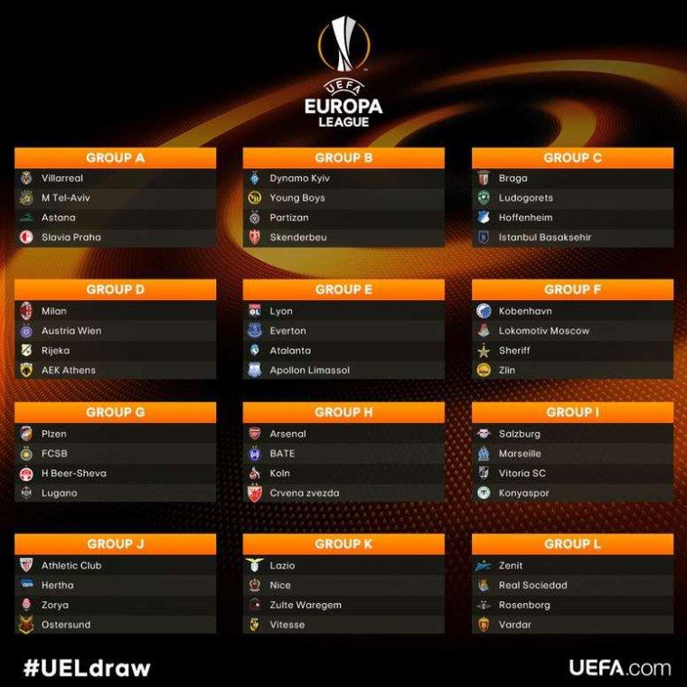 UEFA europa league 2017/2018