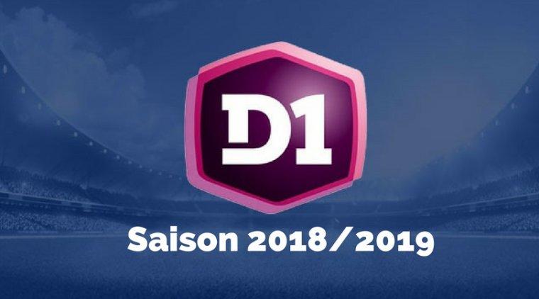 Championnat de France de D1 2018-2019
