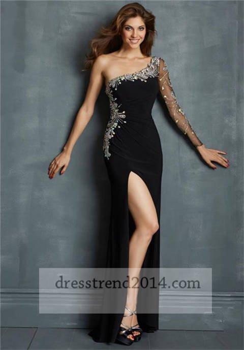 Sparkly long sleeve prom dresses 2014 - christinablair\'s blog