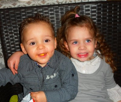 Aaron et Noraa mes deux chérie