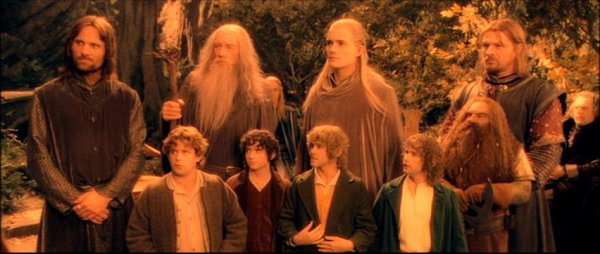 The Fellowship of the Ring / Le Seigneur des Anneaux - Many Meetings (Howard Shore) (2001)
